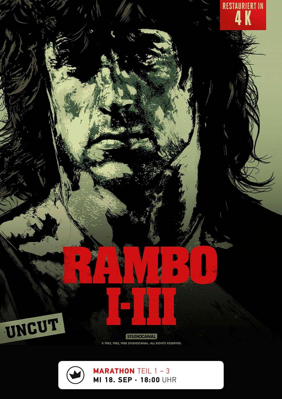 Rambo (1-3 Marathon) - Cine-Royal  - Fritzlar