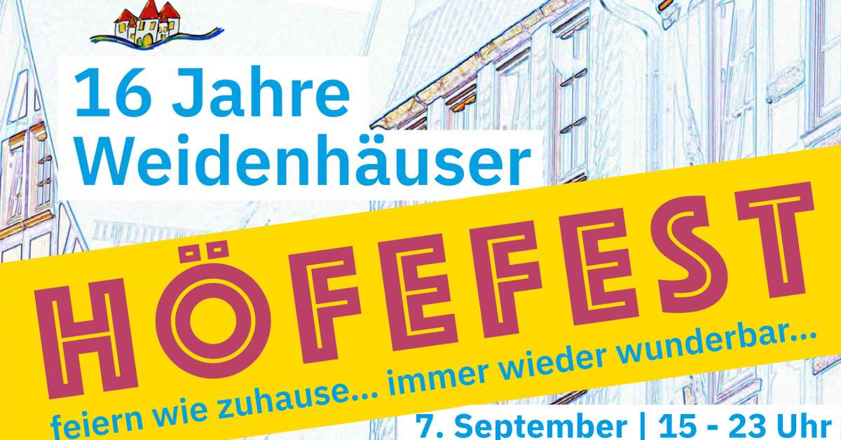 Veranstaltungen & Events am »Samstag, 07. September 2019« in deiner Nähe...